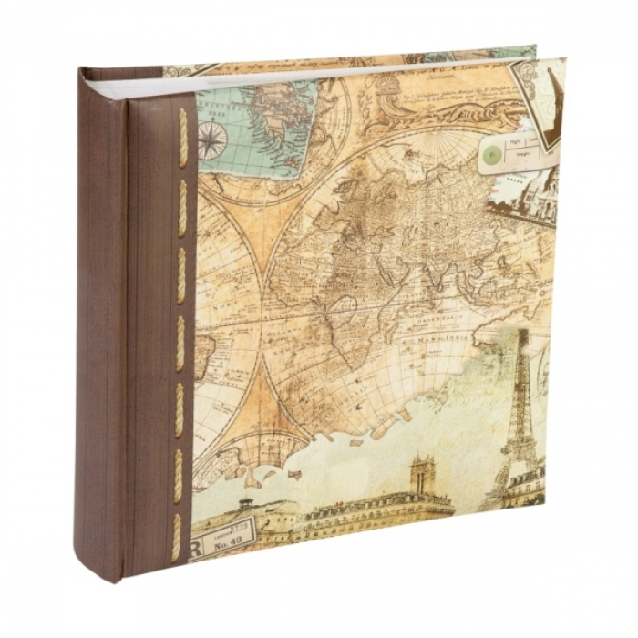 Kenro Old World Map Self Adhesive Photo Album 40 Page