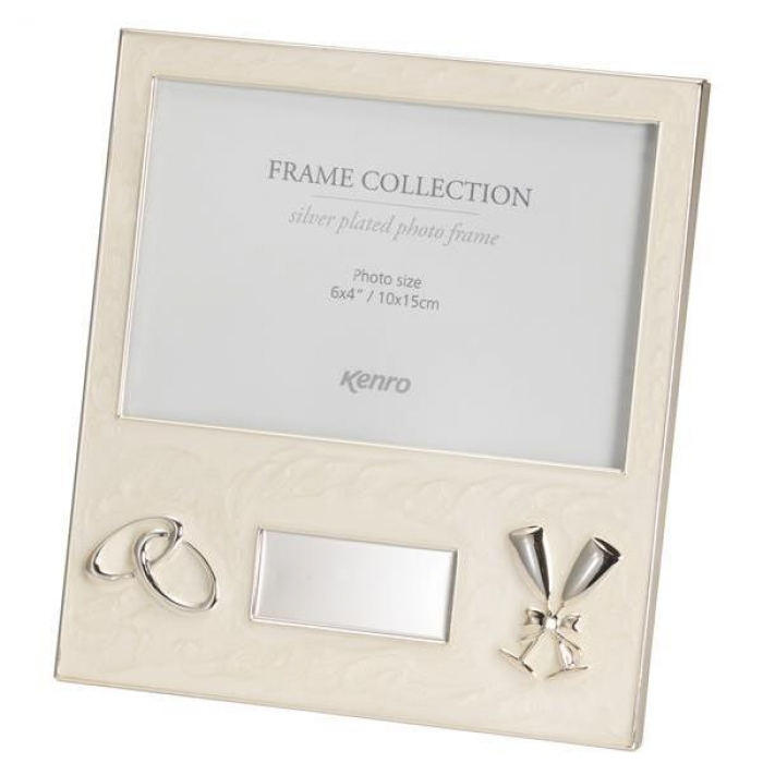 Kenro Mellow Series 6x4-Inch Wedding Frame