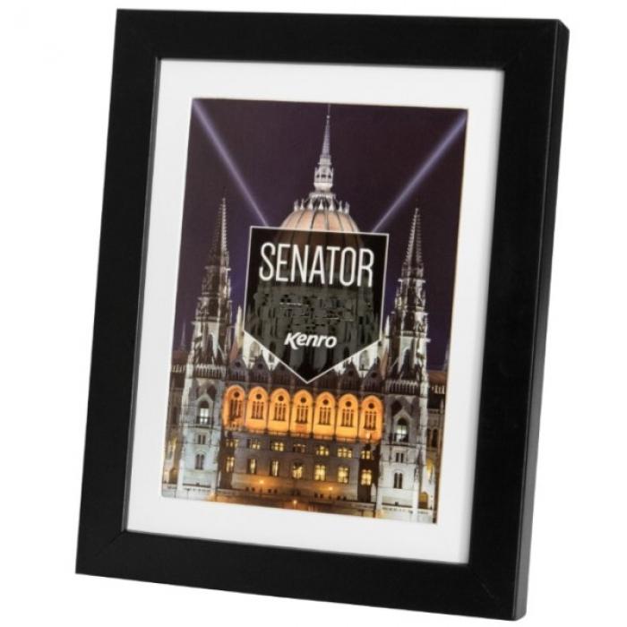 Kenro Senator Black 11x14 Inch Frame With 8x12 Inch Mat
