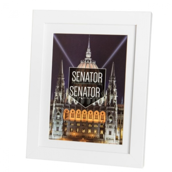 Kenro Senator White Square Frame 50x50cm With Mat 12x12