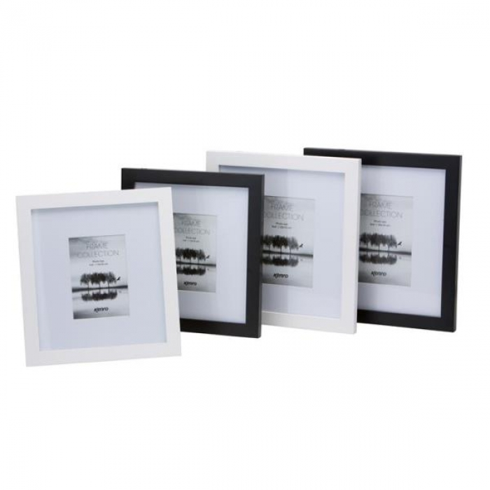 Kenro Sienna 8x12-Inch Frame With Mount - Black