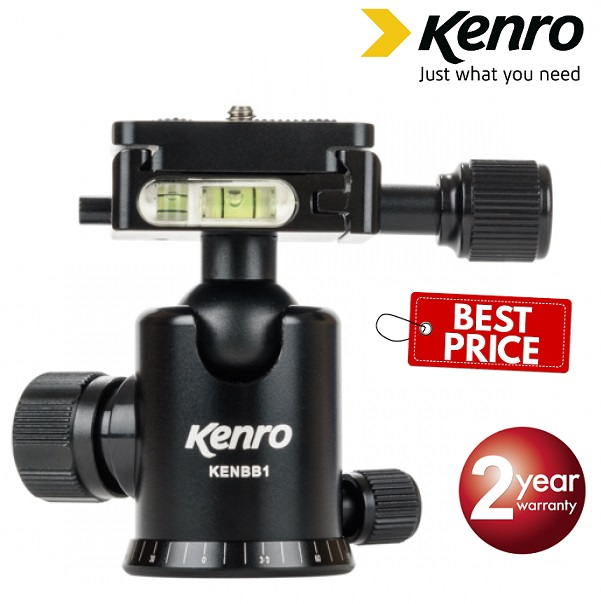 Kenro Small BB1 Pro Dual Action Ball Head