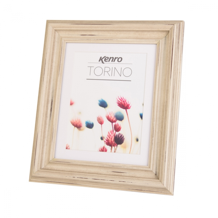 Kenro Torino Frame 8x6-Inch With Mat 7x5-Inch - Grey