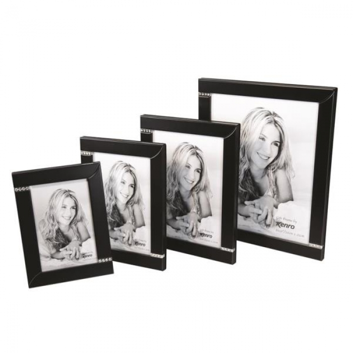 Kenro Twilight Diamante 10x8-Inch Frame - Black