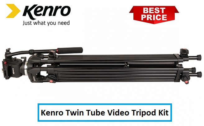 Kenro Twin Tube Video Tripod Kit