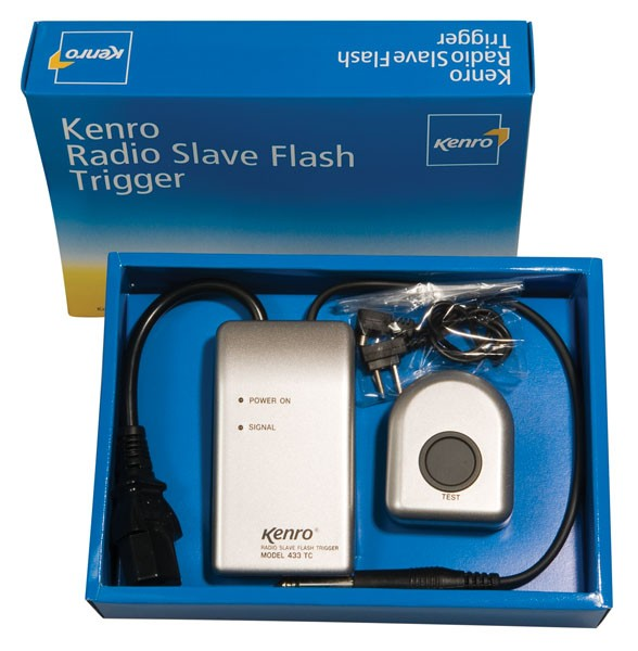 Kenro Radio Slave Flash Trigger and Receiver Kit