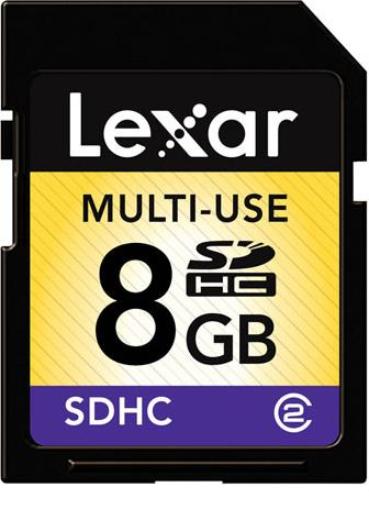 Lexar 8GB Secure Digital High Capacity (SDHC)