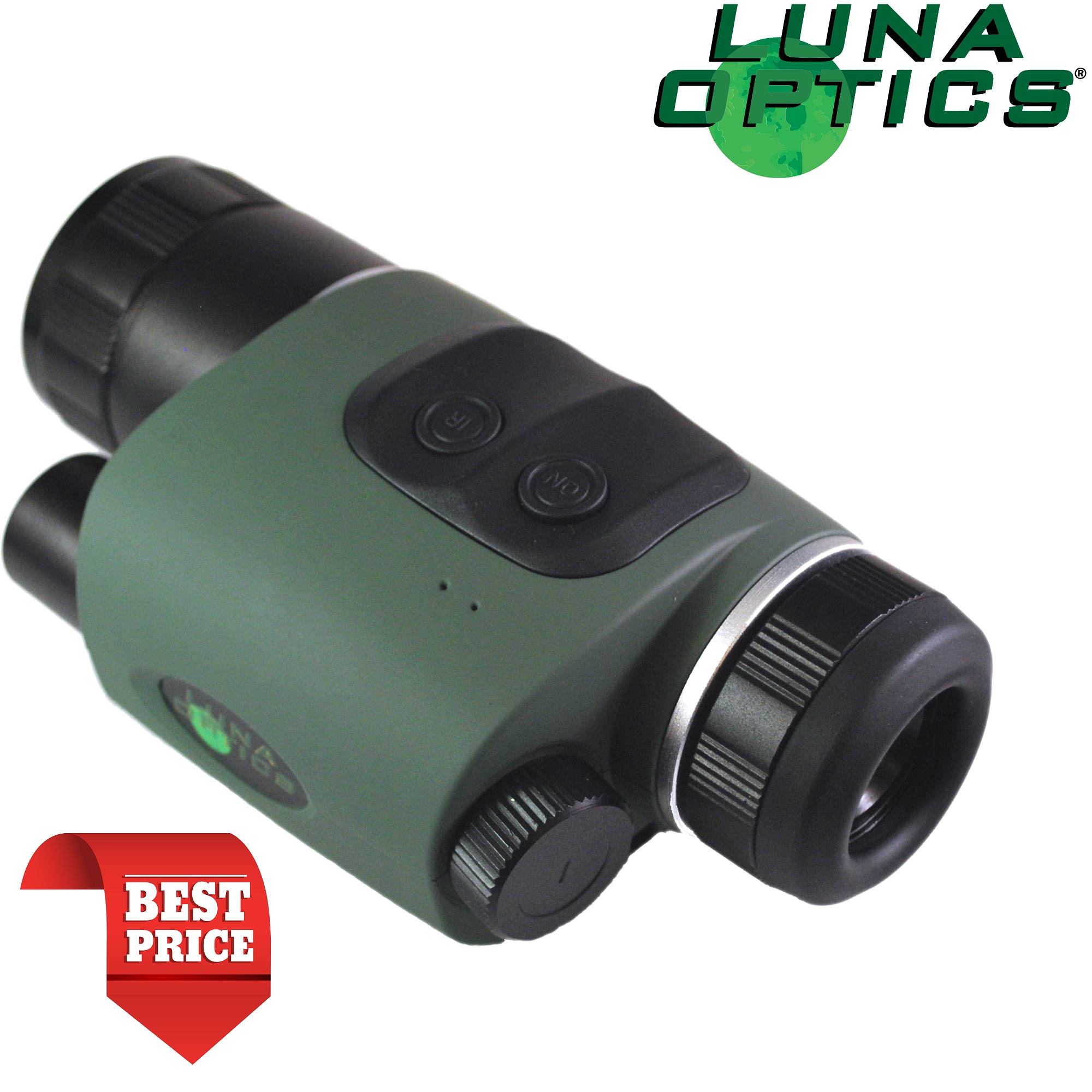 Luna Optics LN-NVM3-HR Gen1 High Resolution Night Vision Monocular