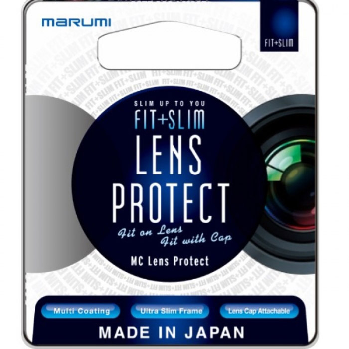 Marumi 43mm Fit Plus Slim MC Lens Protect Filter
