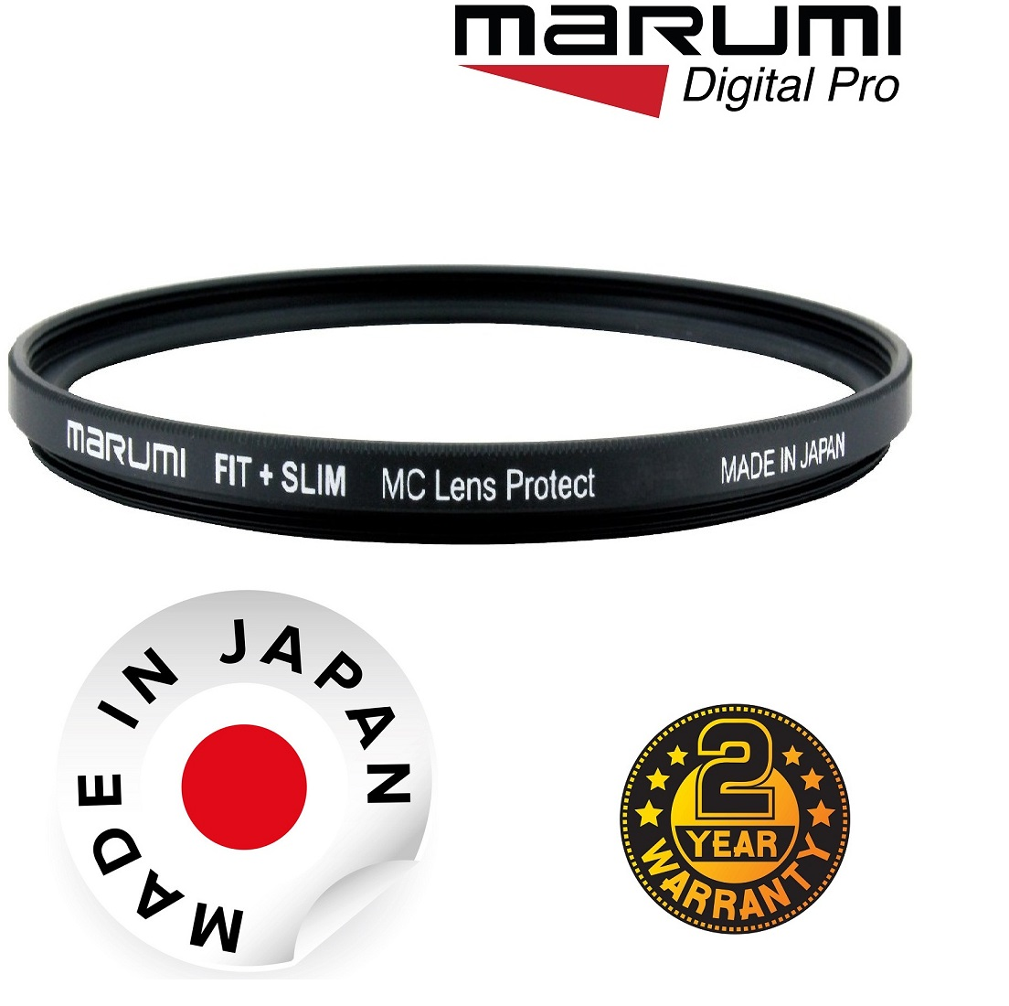 Marumi 49mm Fit Plus Slim MC Lens Protect Filter