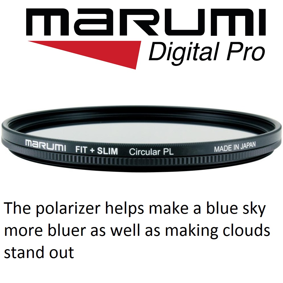 Marumi 52mm Fit Plus Slim Circular Polarizer Filter