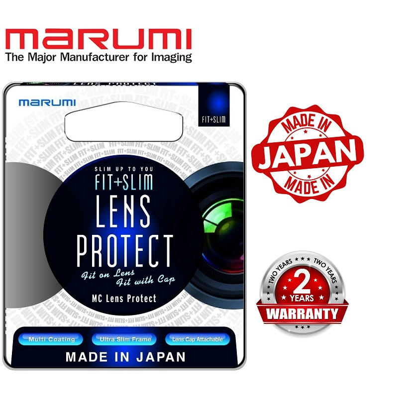 Marumi 58mm Fit Plus Slim MC Lens Protect Filter