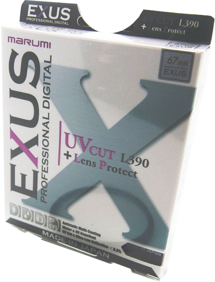 Marumi 72mm EXUS UV L390 Ultraviolet Filter