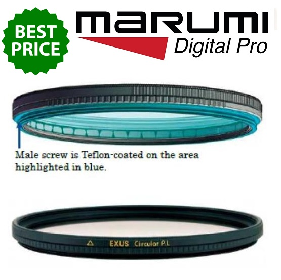 Marumi 77mm EXUS Circular Polarizing Filter