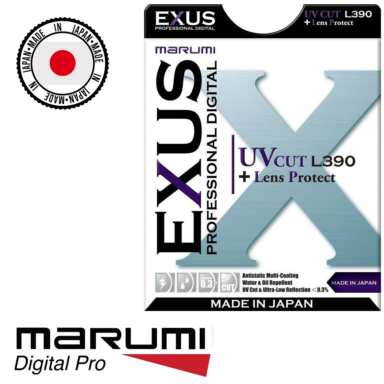 Marumi 82mm EXUS UV Ultraviolet Filter
