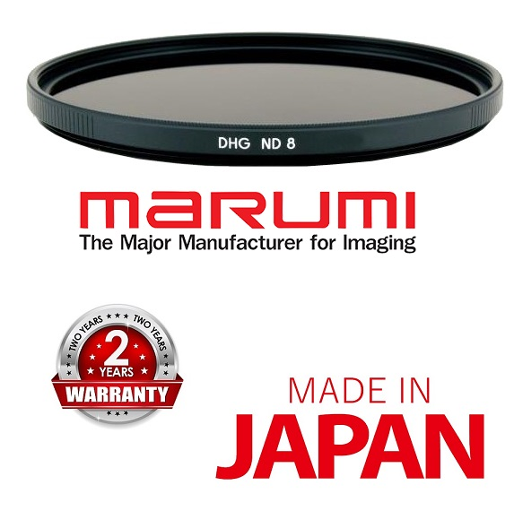 Marumi DHG 46mm ND8 Neutral Density Filter