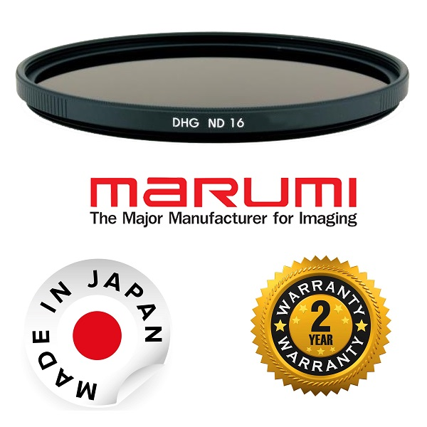 Marumi DHG 49mm ND16 Neutral Density Filter