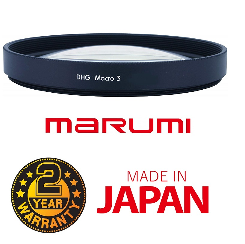 Marumi 55mm macro x3 Close-Up DHG Lens filter