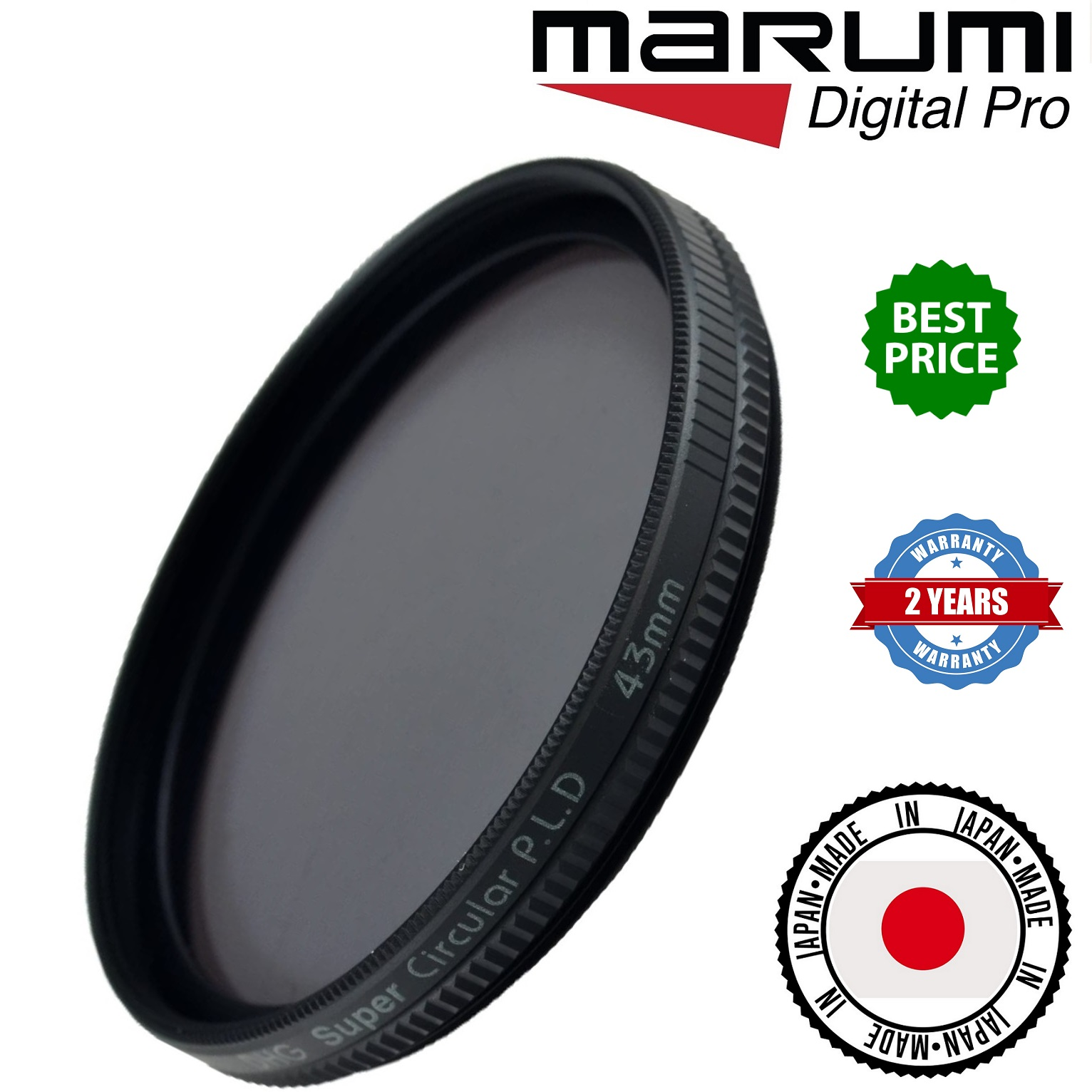 Marumi Super CPL 77mm DHG filter
