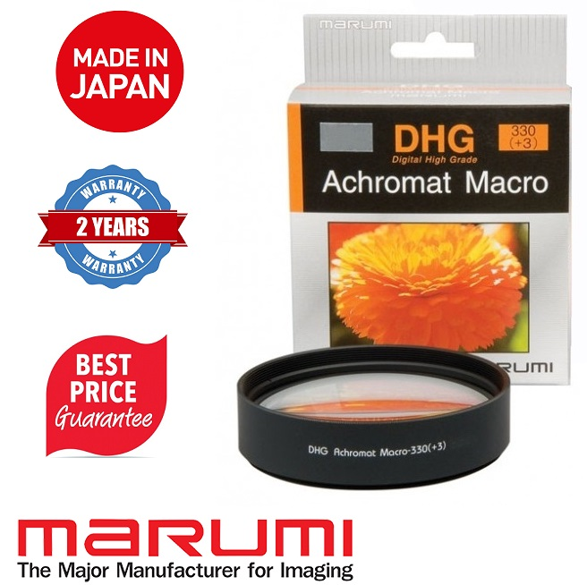 Marumi DHG Close up Achromat 330 (+3) 77mm Macro Lens