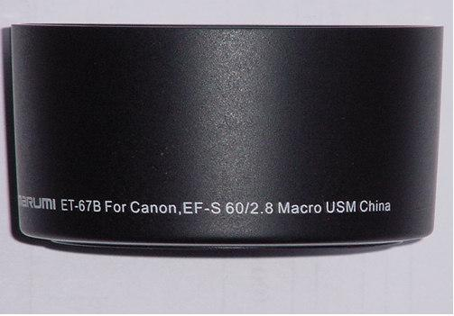 Marumi ET-67B Hood For Macro 60mm F2.8 USM Lens