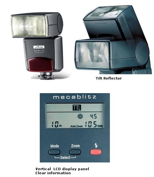 Metz 54 AF 1 Digital hot shoe Flashgun for Nikon