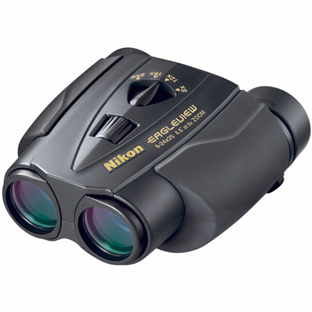 Nikon 8-24x25mm EagleView Zoom Binocular - Black