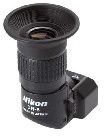Nikon DR-6 Right Angle Finder For Nikon Digital SLR Cameras