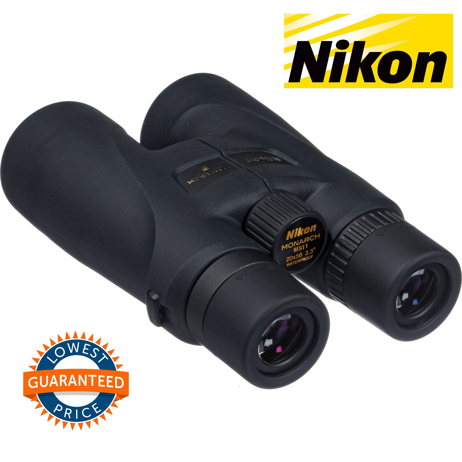 Nikon 20x56 Monarch 5 Binocular (Black)