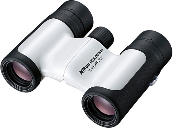Nikon 8x21 Aculon W10 Water Proof Roof Prism Binoculars White