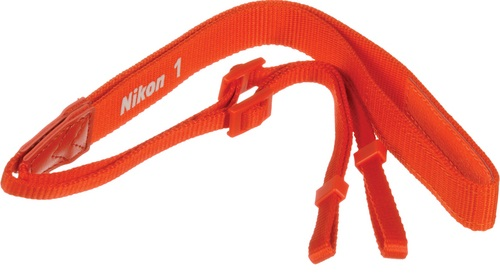 Nikon AN-N1000 Nylon Neck Strap Orange