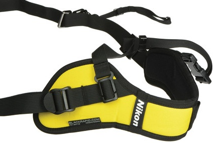Nikon AN-SBR2 Black Rapid Quick-Draw Strap