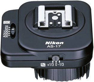 Nikon AS-17 TTL Flash Unit Coupler For F3 Camera