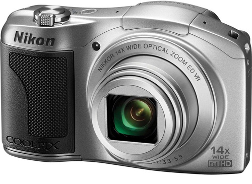 Nikon Coolpix L610 Digital Camera Silver