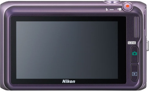 Nikon 16 MP Coolpix S6400 Digital Camera Purple