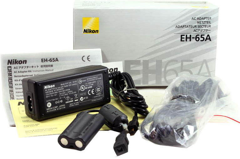 Nikon EH-65A AC Power Supply for the CoolPix L Series Cameras