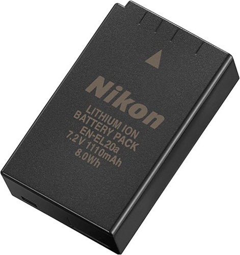 Nikon EN-EL20a Rechargeable Lithium-Ion Battery Pack