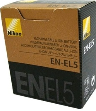 Nikon EN-EL5 Lithium-Ion Rechargeable Battery for Selected Coolpix