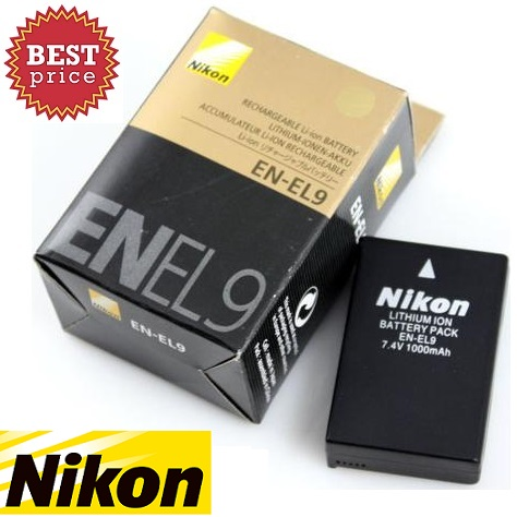 Nikon EN-EL9 Battery for D40 Digital Camera