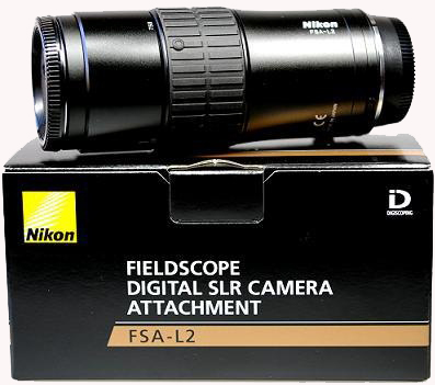 Nikon FSA-L2 Fieldscope Digital SLR Camera Attachment Adapter