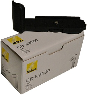 Nikon GR-N2000 Camera Grip Black For Nikon 1 J1 Camera