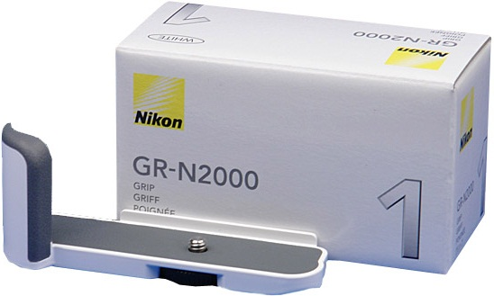Nikon GR-N2000 Camera Grip White For Nikon 1 J1 Camera