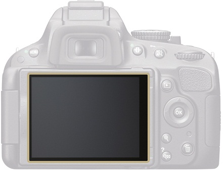 Nikon LP-SD5100 LCD Protective Film For D5100 Camera