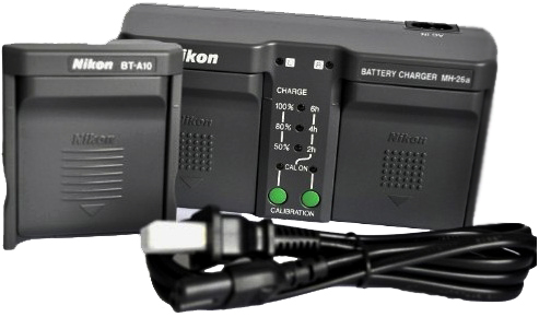 Nikon MH-26a Battery Charger For EN-EL18a or EN-EL18 Batteries
