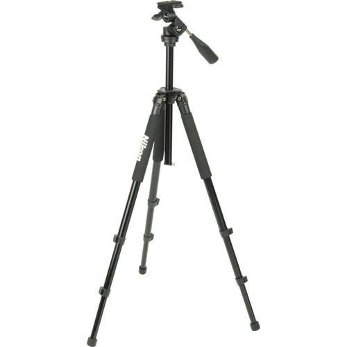 Nikon Full Size Premium Tripod with Easy Tilt Head