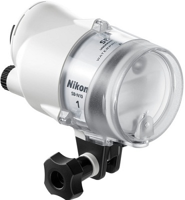 Nikon SB-N10 Underwater Speedlight Flash For Nikon 1 Cameras