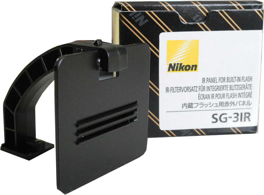 Nikon SG-3IR IR Panel For Cameras With Built-In Flash