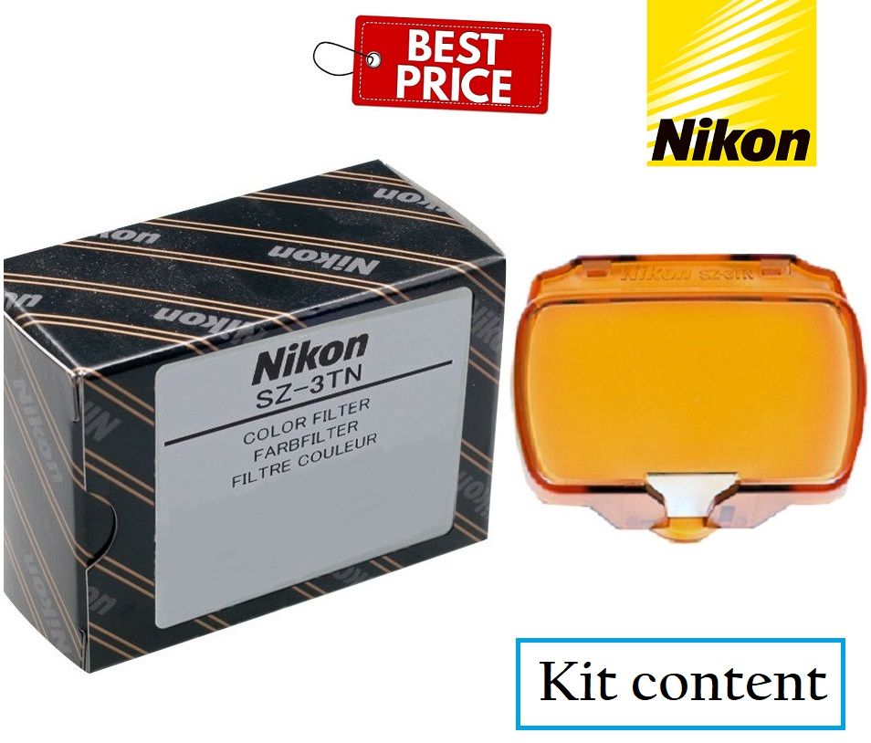 Nikon SZ-3TN Incandescent Color Filter Orange for Nikon Speedlight SB-700 Flash