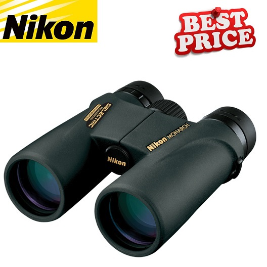 Nikon Monarch ATB 12x42 Dielectric Prism Coatings Binocular (Black)