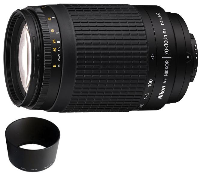 Nikon 70-300mm F4-5.6G AF Lens Black Colour